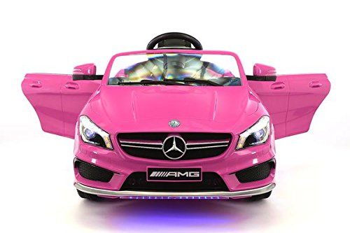 Licensed Mercedes 12V Kids Ride-On Car MP3 USB Player Battery Powered RC Parental Remote Toy
