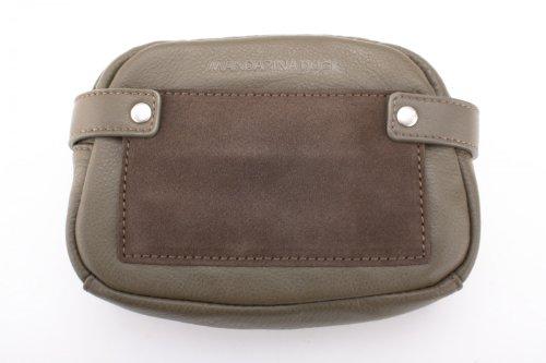 Mandarina Duck Sauvage 02 Militare Clutch Leder Tasche