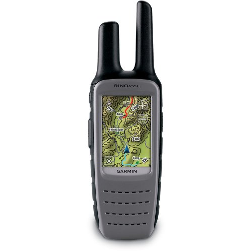 Garmin Rino 655t US GPS with TOPO 100K Maps