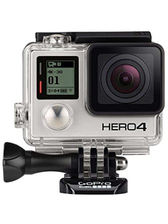 GoPro HERO4 Black Edition Adventure - Videocámara deportiva (12 Mp, Wi-Fi, Bluetooth,...