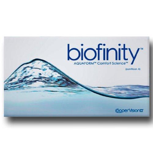 Cooper Vision Biofinity Monatslinsen weich, 6 Stück / BC 8.6 mm / DIA 14.0 / +1,50 Dioptrien