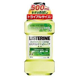 薬用 LISTERINE リステリン ナチュラルケア 500mL ノンアルコールタイプ [医薬部外品]