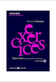 Livres Couvertures de Exercices de grammaire française