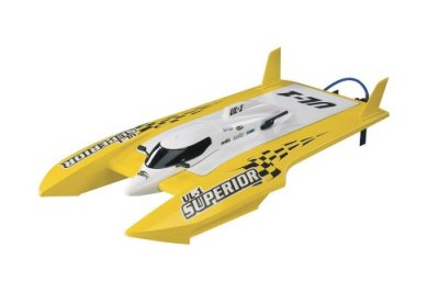 Aquacraft-UL-1-Superior-FE-Hydro-RTR-Boat-Yellow