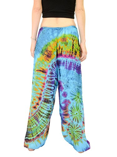 Orient-Trail-Womens-Yoga-Pajama-Tie-dye-Hippie-Pants-Size-US-4-14