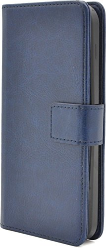 PLATA DIGNO ディグノ F / DIGNO E  503KC 用 カラー レザー スタンド ケース ポーチ 手帳型 カバー 【 ブルー 青 あお blue 】 Y503KC-77BL