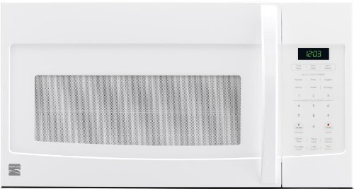 buy cheap kenmore 80322white over the range microwave 1 6 cu ft 1000 watts microwave ovens deals