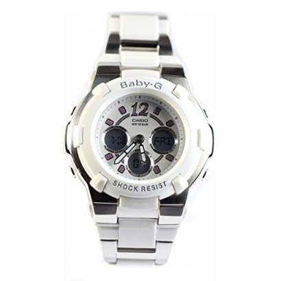 Casio-Womens-BGA112C-7B-Baby-G-White-and-Silver-Tone-Rhinestone-Accented-Watch