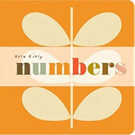 Baby board book: Numbers by Orla Kiely