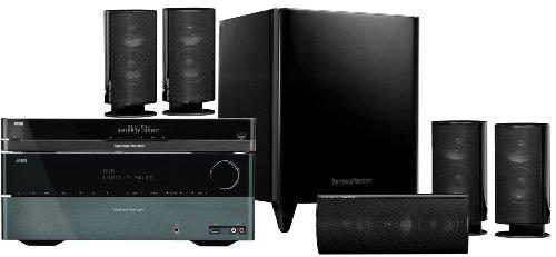 Harman Kardon AVR156/BDT20/HKTS 20 5.1 Blu ray Heimkinosystem