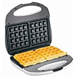 26008Y Waffle Maker - Belgian Waffle - 2 x Square Waffle by PROCTOR SILEX