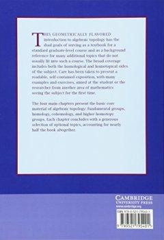 Livres Couvertures de Algebraic Topology