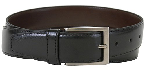 The Vegan Collection Men's Captain Black Non Leather Belt (34