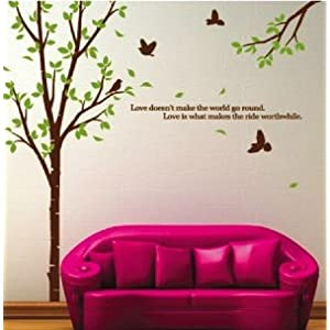 WallStickersUSA Large Tree Wall Sticker Decal for Home Decor