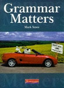 "Cover of ""Grammar Matters"""
