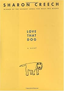"""Cover of """"Love That Dog"""""""