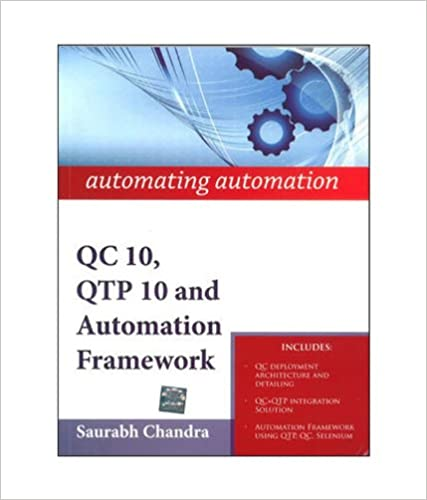 automating automation: QC 10, QTP 10 and Automation Framework
