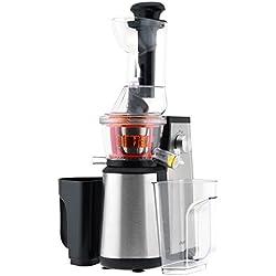 H.Koenig GSX18 - Extractor de jugos vertical, 400 W, 1 l