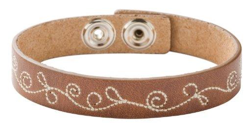 Fossil Damen-Armband Leder Braun 20cm JA3645040