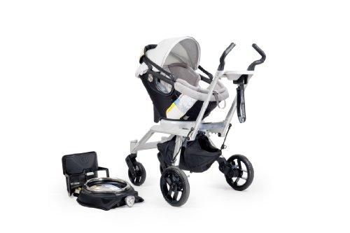 New Orbit Baby G2 StrollerSeat Inner Upholstery in Red for Ruby