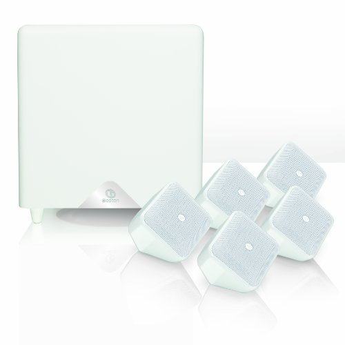 Boston Acoustics SoundWareXS 5.1 SE Heimkinosystem (Subwoofer 100 Watt, BassTrac) Hochglanz weiß