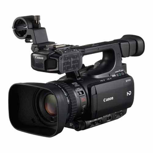 Canon XF100 Professional Camcorder with 10x HD Video lens, Compact Flash (CF) Recording