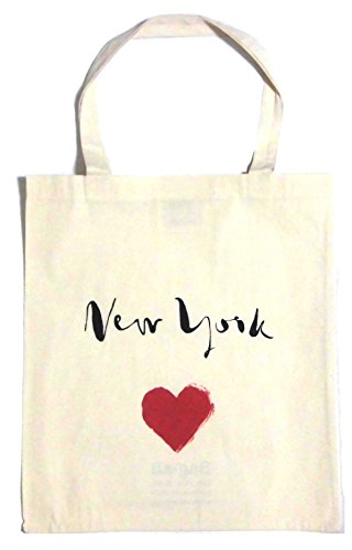 Bag all ( バッグオール ) ニューヨーク の エコ トートバッグ NEW YORK HEART TOTE BAG ハート コットン 手提げ 海外 ブランド