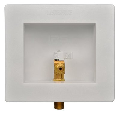 IPS-CORPORATION-GIDDS-284208-Water-Tite-Icemaker-Valve-Outlet-Box-with-14-Turn-Valve-Pex-Lead-Free