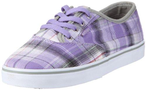 Etnies SAVILE W'S 4201000261363, Damen Sneaker, Grau (GREY/PURPLE 363), EU 39 (US 8.5)