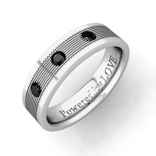 Black Diamond Ring Men