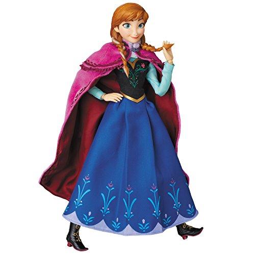 RAH(リアルアクションヒーローズ) アナ 『アナと雪の女王』 より 1/6スケール ABS&ATBC-PVC製 塗装済み 可動フィギュア