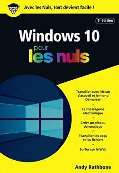 Livres Couvertures de Windows 10 Poche Pour les Nuls, 2e