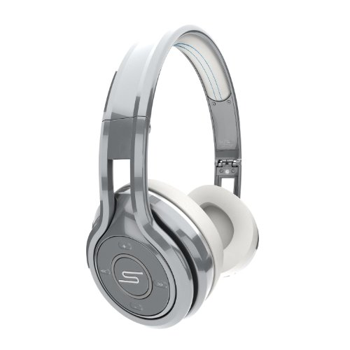 SMS Audio SYNC by 50 Cent Silver Bluetooth ワイヤレス・オンイヤー・ヘッドホン(ヘッドフォン) [並行輸入品]