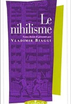 Livres Couvertures de Le Nihilisme