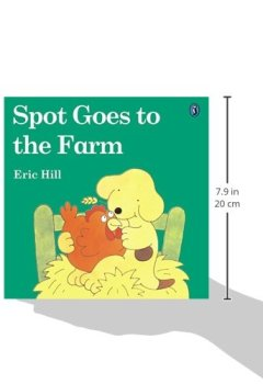 Livres Couvertures de Spot Goes to the Farm (color)