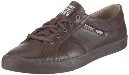 ESPRIT Sophia Lace up U13021, Damen, Sneaker, Braun (medium brown 218), EU 39