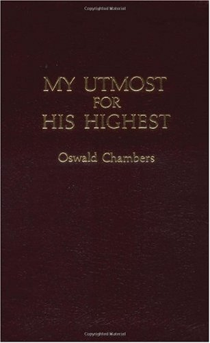 "Cover of ""My Utmost for His Highest"""