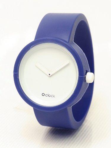 O'clock【オクロック】 シリコンリストウォッチ (Ocean) (Mサイズ:17cm)
