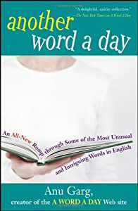 "Cover of ""Another Word A Day: An All-New ..."