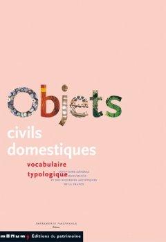 Livres Couvertures de Objets civils domestiques : Vocabulaire typologique