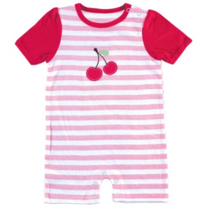 Hudson-Baby-Striped-Cherry-Romper-6-9-Months