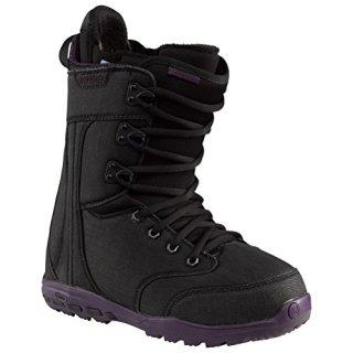 Burton Sapphire Womens Snowboard Boots 7.5 Black-Black