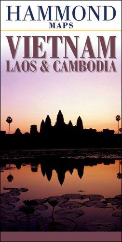 Hammond Maps Vietnam, Laos, & Cambodia