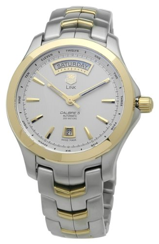 TAG Heuer Men's Link Automatic Automatic Day-Date Watch #WJF2050.BB0593