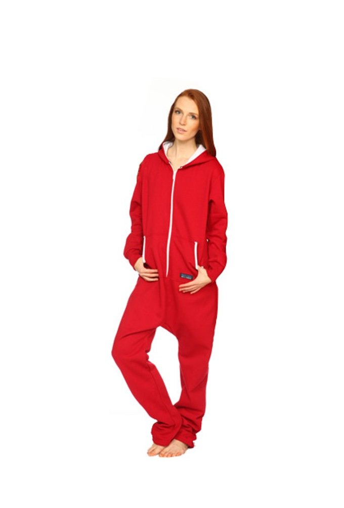 Snug As A Bug Get Lucky Onesie Unisex size M Red