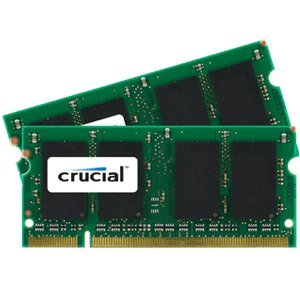 4GB kit (2GBx2) Upgrade for a Apple MacBook Pro 2.4GHz Intel Core 2 Duo (15.4-inch) System (DDR2 PC2-5300, NON-ECC, )