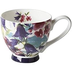 """Portobello """"Jaya"""" de porcelana taza con base"""