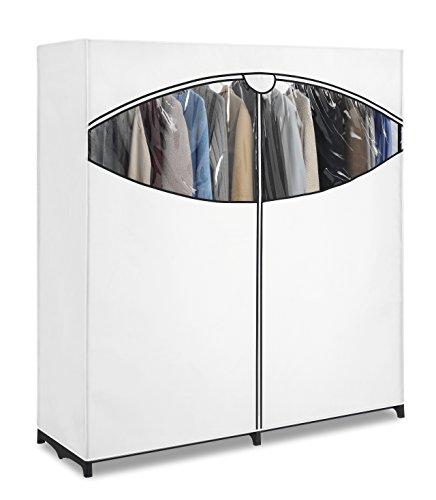 Whitmor Extra-Wide Portable Clothes Storage Closet / Wardrobe, White