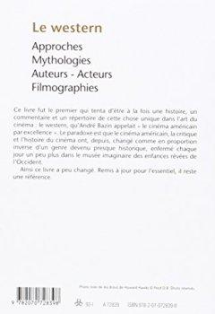 Livres Couvertures de Le Western: Approches - Mythologies - Auteurs - Acteurs - Filmographies