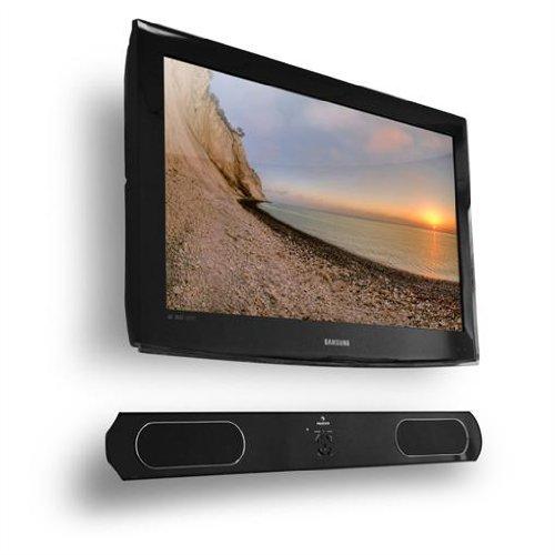 Auna Soundprojektor© 2.1 Soundbar System Funk-Subwoofer (600 Watt, Cinch/Klinke Eingang) schwarz
